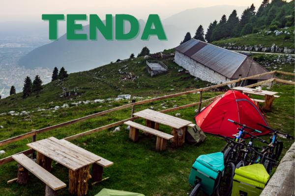 Dormire in tenda presso le Malghe dell'Altopiano di Asiago convenzionate